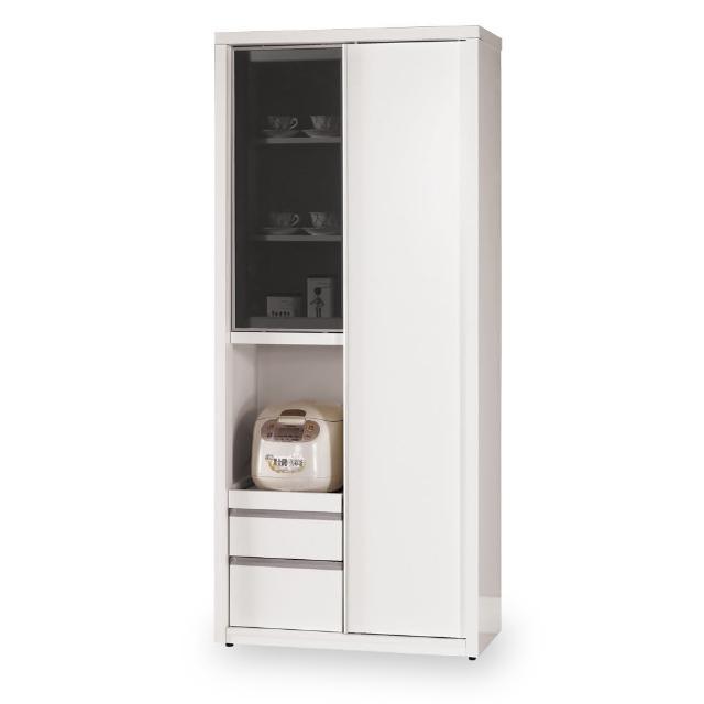 【時尚屋】卡洛琳6尺高拉門收納櫃 C7-935-1(免組裝 免運費 收納櫃)