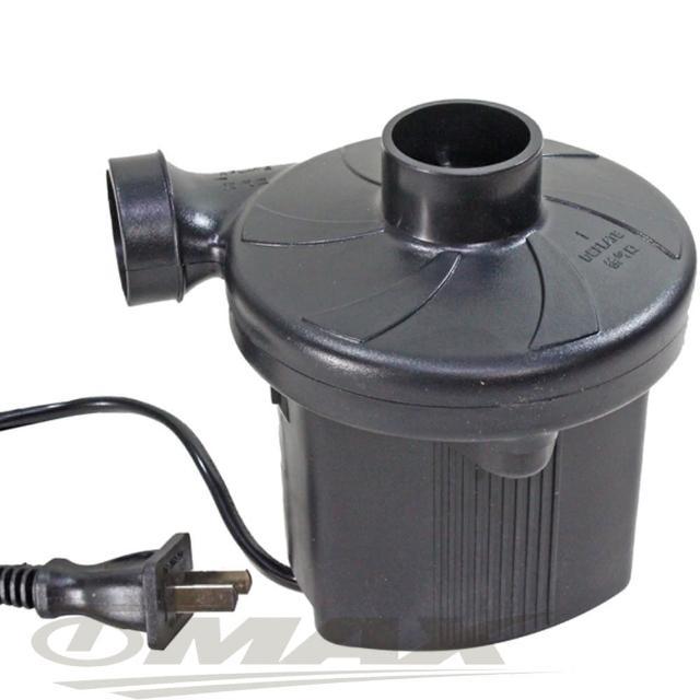 【omax】充氣抽氣兩用電動打氣機-插電式(贈壓縮袋1入-12H)