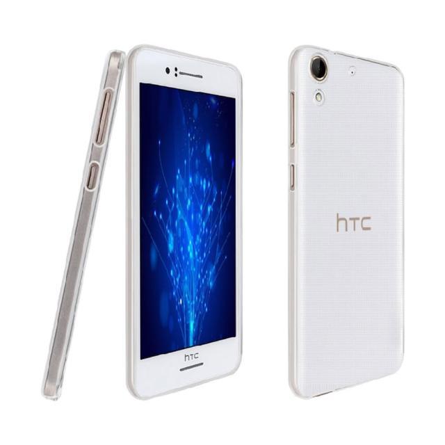 【hTC】Desire 626 晶亮透明 TPU 高質感軟式手機殼-保護套(光學紋理設計防指紋)