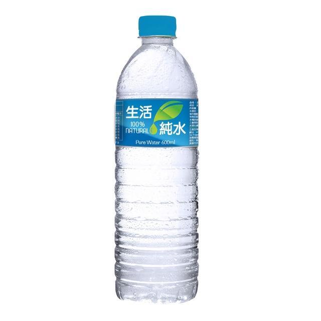 【生活】純水600mlx4箱(共96入)