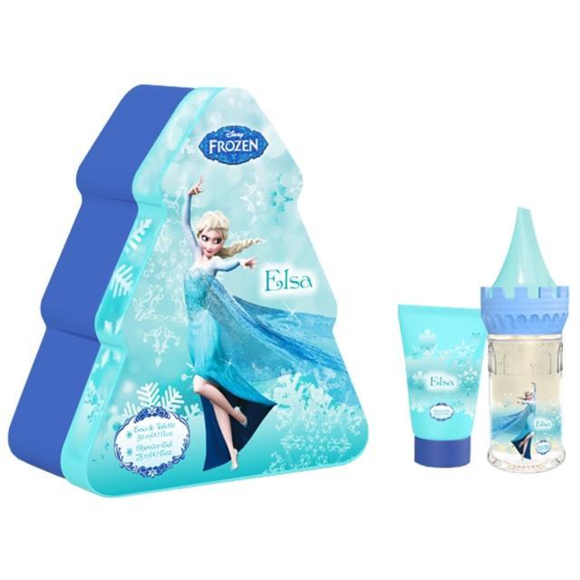 【Disney】Frozen 冰雪奇緣 魔法艾莎香水禮盒
