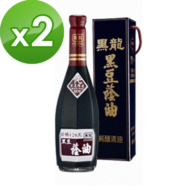 【黑龍】特級黑豆蔭油-純釀清油2入(600ml)