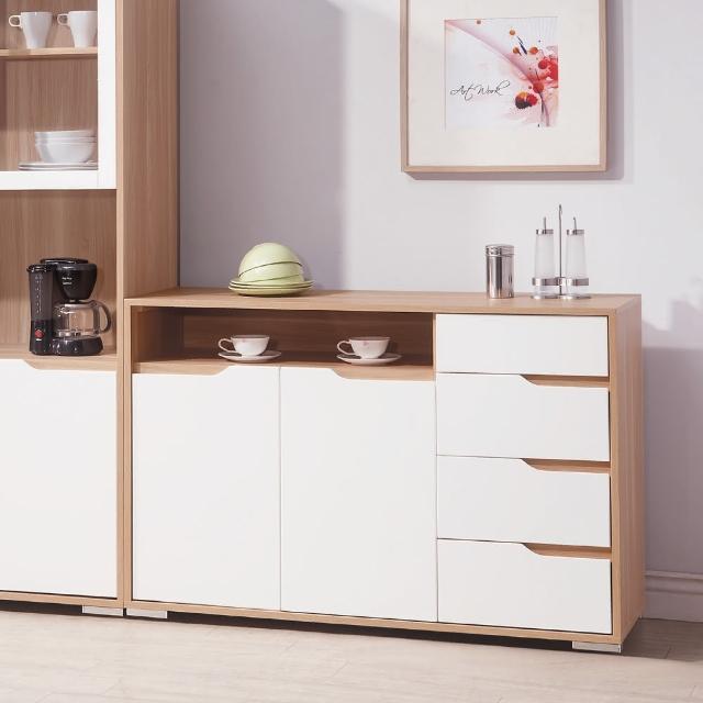 【AS】愛里絲北歐風4尺餐櫃-40x121x81cm