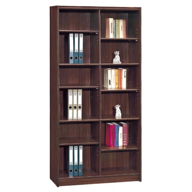 【顛覆設計】諾亞3x6尺胡桃色開放式書櫃