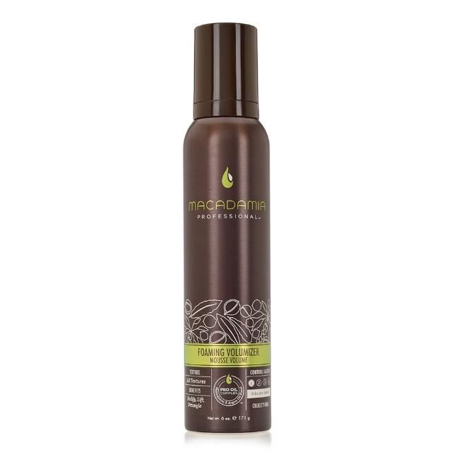 【Macadamia】Professional 瑪卡奇蹟油 蓬鬆光感髮泡(171g)