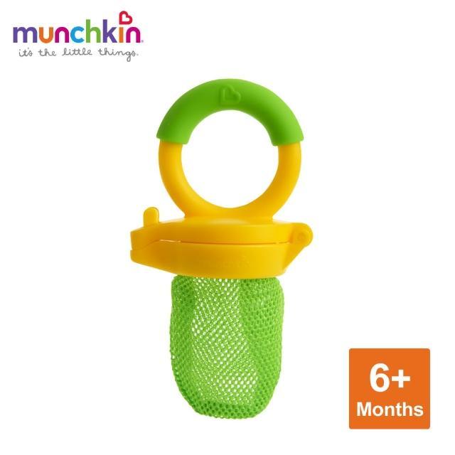 【美國munchkin滿趣健】新鮮食物咬咬樂-綠