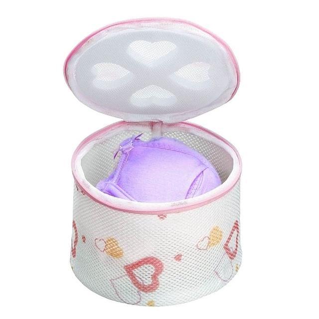 【AISEN】心形印花內衣洗衣網(L型)