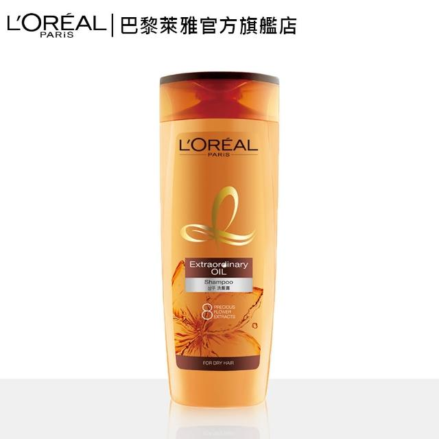 【LOREAL Paris 巴黎萊雅】金緻護髮精油洗髮露(400ml)