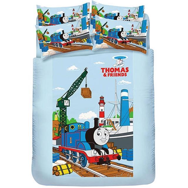 【湯瑪士】港口篇-單人床包二件式(枕套+床包)