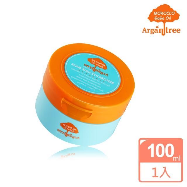 【Morocco GaGa Oil】摩洛哥護髮專科修護滋養髮膜100ml(SET)