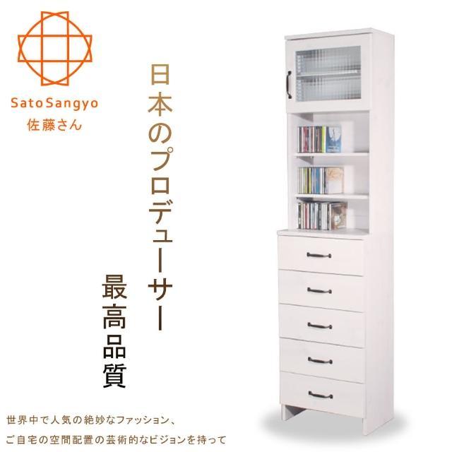 【Sato】DOLLY朵莉五抽單門SMART置物櫃