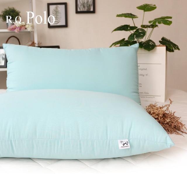 【R.Q.POLO】新光遠紅外線『薄荷綠』 發熱羊毛枕 枕頭枕芯(1入)