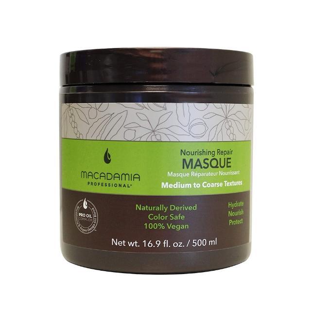 【Macadamia】Professional 瑪卡奇蹟油 潤澤髮膜(500ml)