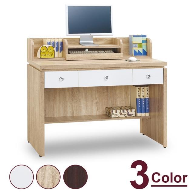 【時尚屋】夢娜耐磨4尺電腦辦公桌 MT7-625-4(三色可選 免運費 免組裝 電腦桌)