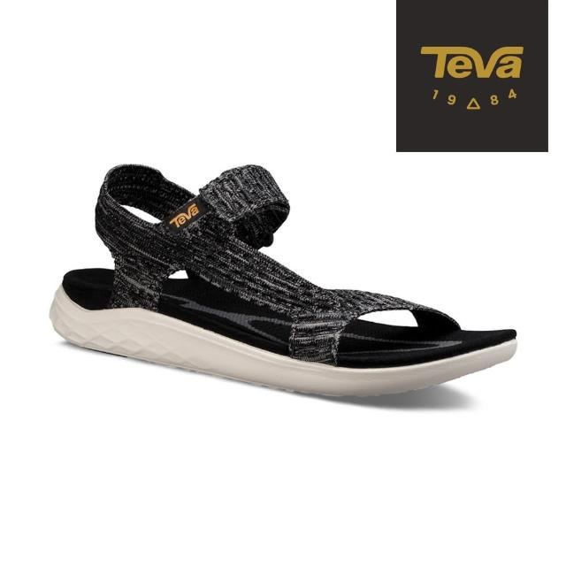 【TEVA】男 Terra-Float 2 Knit 輕量運動涼鞋(黑-TV1091592BLK)