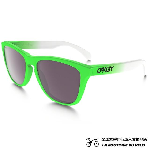【Oakley】FROGSKINS PRIZM DAILY POLARIZED GREEN FADE EDITION(生活日用偏光 亞洲版 太陽眼鏡)