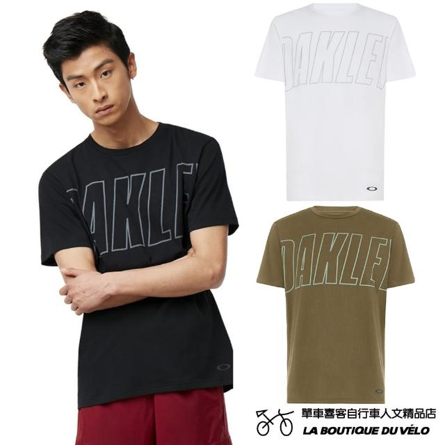 【Oakley】AT19 SS TEE.01(簡約時尚LOGO印花男款短袖T恤)