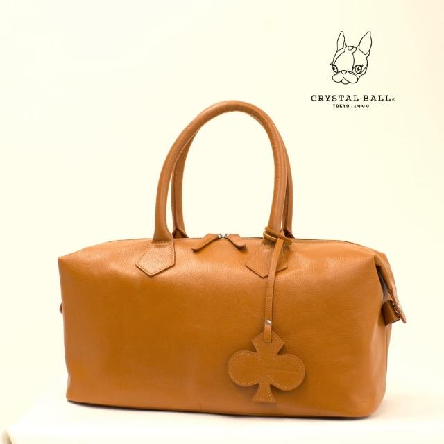 【CRYSTAL BALL】Clover Leather Boston Bag波士頓包