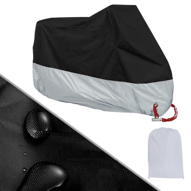 加厚防水機車套/防塵套/摩托車罩(遮雨罩