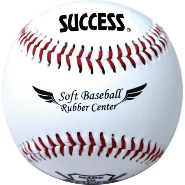 【成功】S4102安全軟式縫線棒球/