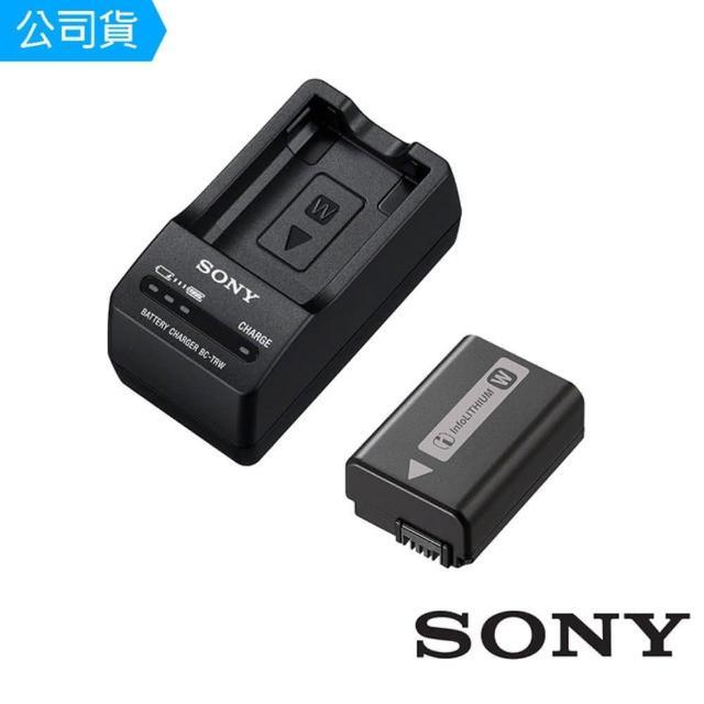 【SONY】W型充電電池超值組