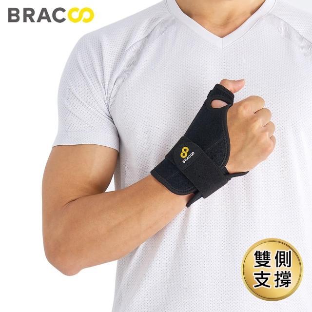 【美國Bracoo奔酷】拇指進階包覆式護具_大拇指用(TP32)/