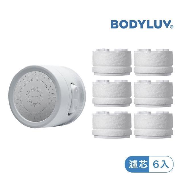 【BODYLUV】第二代廚房水龍頭過濾器(固定型)+第二代濾芯6入/