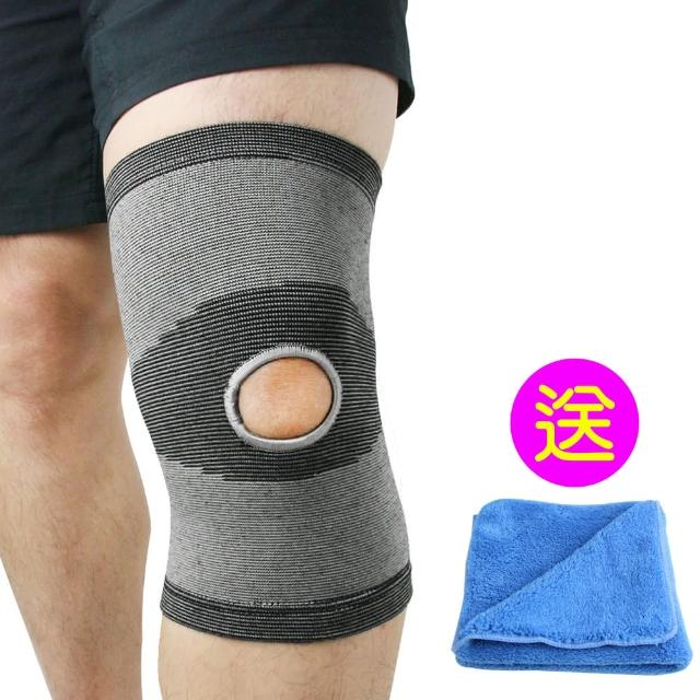 【Yenzch】竹炭開洞型運動護膝