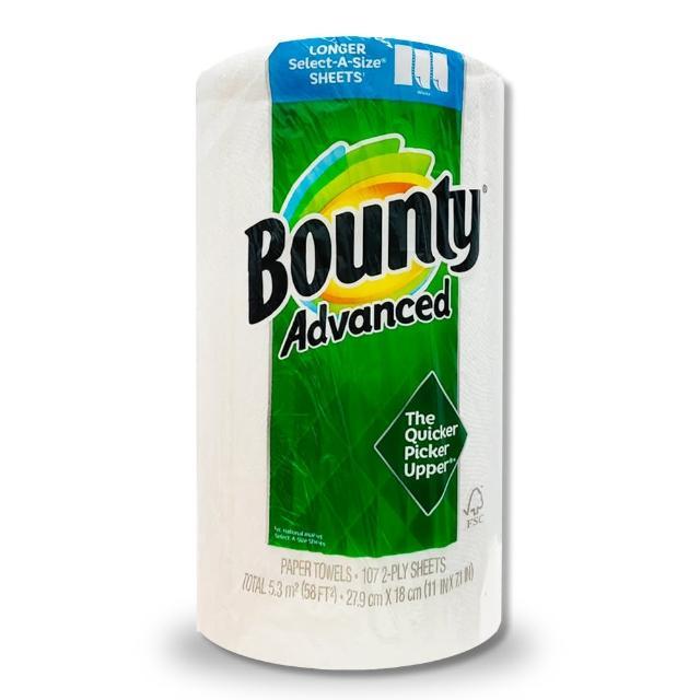 【Bounty】廚房紙巾-隨意撕(107張)/