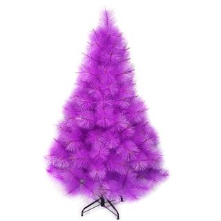 【摩達客】耶誕-4尺/4呎-120cm台灣製特級紫色松針葉聖誕樹-裸樹(不含飾品/不含燈/本島免運費)