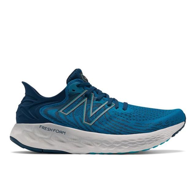 【NEW BALANCE】Fresh Foam 1080v11 男 緩震跑鞋 藍色(M1080S11-2E)