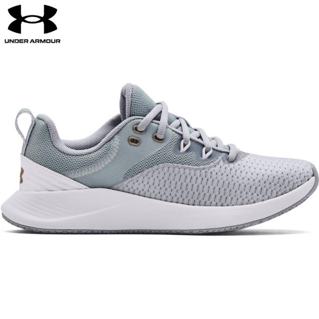 【UNDER ARMOUR】UA 女 Charged Breathe TR 3訓練鞋_3023705-101(灰)