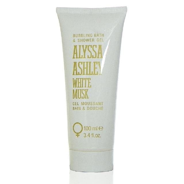 【Alyssa 亞莉莎】Alyssa Ashley White Musk 迷情白麝香沐浴精 100ml 無外盒(真品平行輸入)