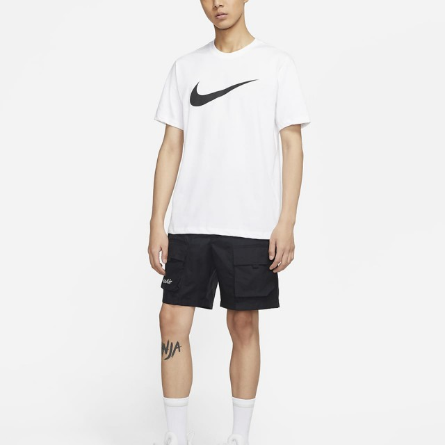 【NIKE 耐吉】AS M NSW TEE ICON SWOOSH 男 短袖上衣 白(DC5095100)