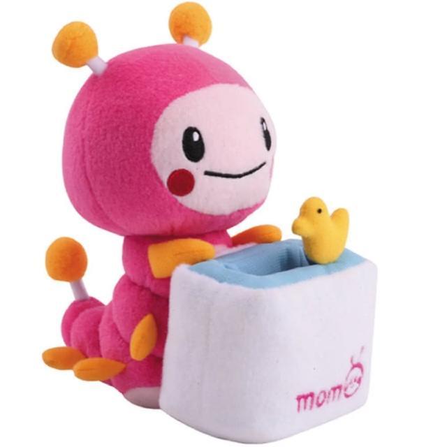 【MOMO親子台】7吋momo絨毛娃娃置物座