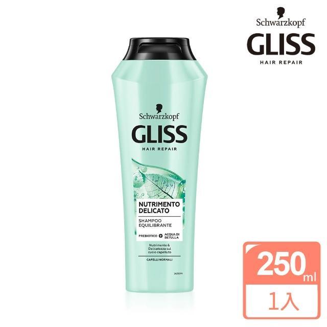 【Schwarzkopf 施華蔻】Gliss頭皮平衡修護洗髮乳250ml