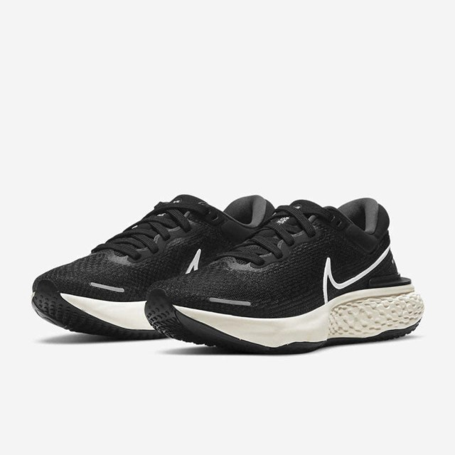 【NIKE 耐吉】NIKE WMNS ZOOMX INVINCIBLE RUN FK 女 慢跑鞋 黑色(CT2229001)
