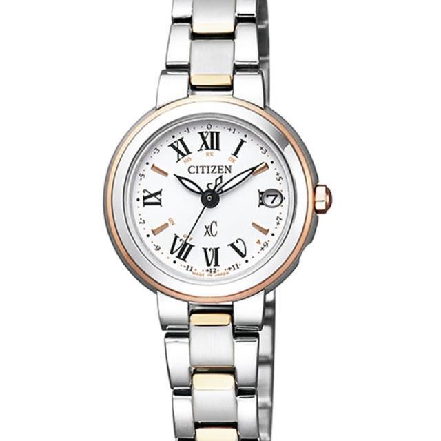 【CITIZEN XC】優雅電波光動能時尚腕錶/限量款(ES9004-52A)