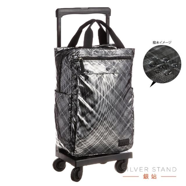【銀站】日本SWANY內斂 輕量撥水手提X拉桿多用途隨行袋。 商務。購物。旅遊。(行李箱、購物車、拉桿旅行袋)