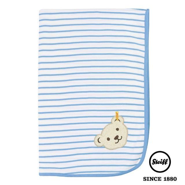 【STEIFF德國金耳釦泰迪熊】棉毯(寢具)