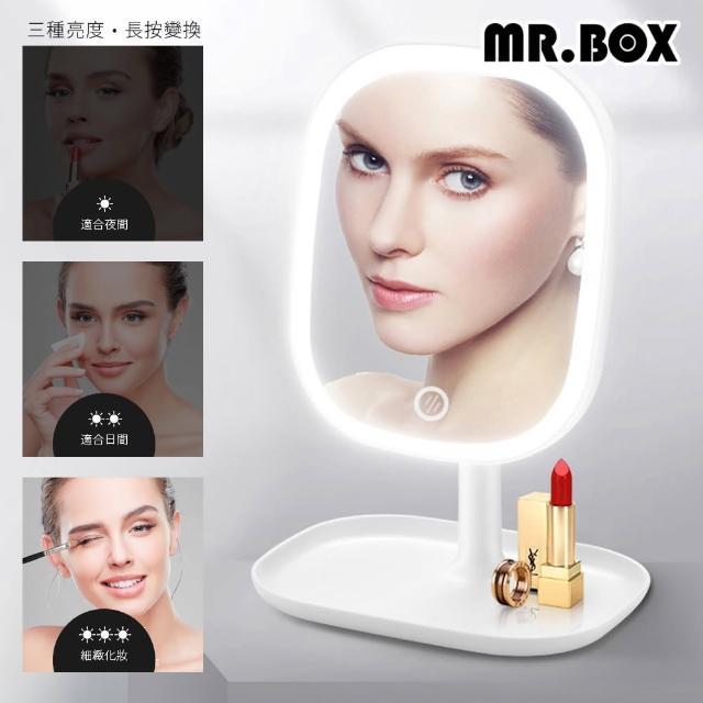 【Mr.Box】LED智能補光高清加大化妝鏡