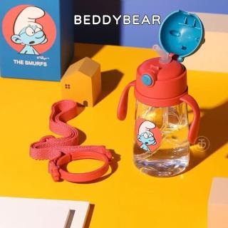 【BEDDY BEAR 杯具熊】韓國BEDDYBEAR 藍精靈萌寵兒童學飲杯 兒童水壺 Tritan 水壺
