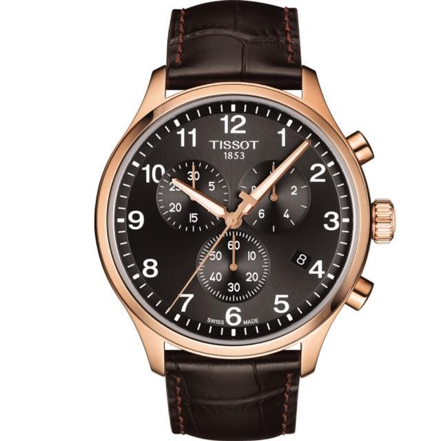 【TISSOT 天梭】Chrono XL韻馳系列經典計時腕錶(T1166173605701)
