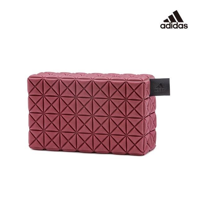 【adidas 愛迪達】Yoga 專業訓練立體格紋瑜珈磚(ADYG-20150)