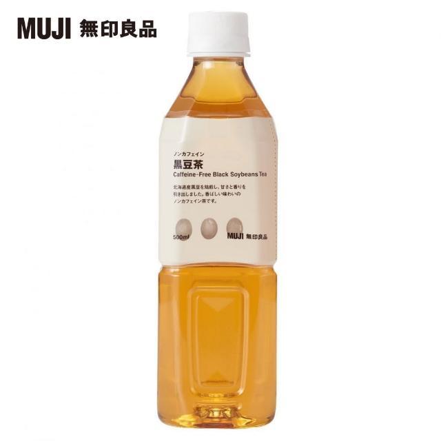 【MUJI 無印良品】PET無咖啡因黑豆茶/500ml