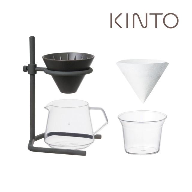 【Kinto】SCS 鑄.職人手欐咖啡四件組-2杯量