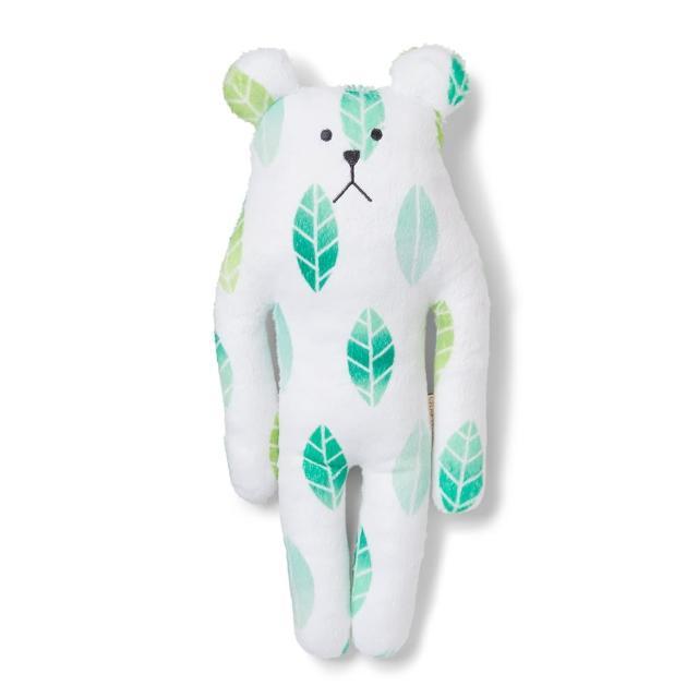 【CRAFTHOLIC 宇宙人】奈良綠茶熊小抱枕(春季限定)
