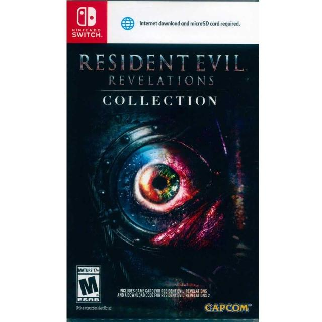 【Nintendo 任天堂】NS Switch 惡靈古堡:啟示 1+2 合輯 中文美版(Resident Evil Revelations Collection)