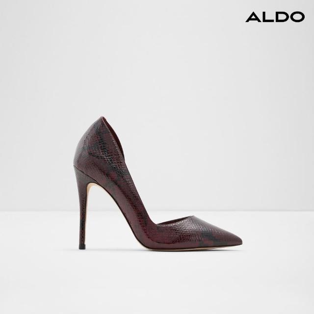【ALDO】時尚尖頭側空高跟鞋