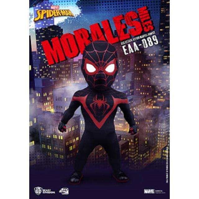 【Beast Kingdom 野獸國】EAA-089 漫威英雄 蜘蛛人 邁爾斯 莫拉雷斯